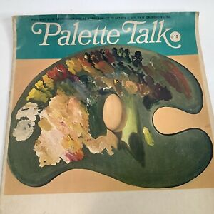 Palette Talk Number 15 1971 M. Grumbacher Service to Artists Watercolor