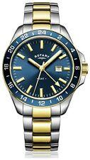 Rotary Men's Two Tone Gold Colour Havana Quartz Watch. From Argos on ebay