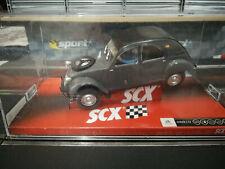"""SCX CITROEN 2CV SAHARA """"ORIGINAL 657"""" slot car Scalextrix compatible"""