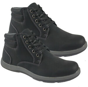 MENS BOOTS SHOES CUSHION WALK DESERT LACE UP ANKLE SMART CASUAL CHUKKA SHOES