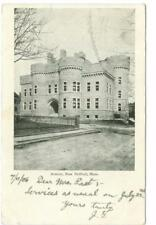 New Bedford, MA  Armory used postcard 1906