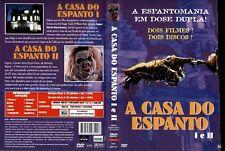 A Casa Do Espianto I e II DVD House Horror Brazil Double Set Limited Edition