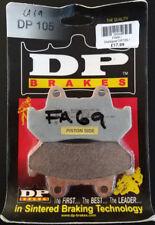 Dunlopad Dp 105 Calidad Moto Pastillas de Freno Sinterizadas FA69 BC39500-T