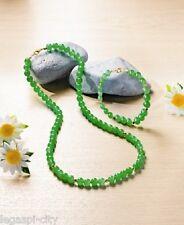 Elegantes Schmuckset (Halsband,Armband) im Trendy Jade-Design grün Hammerpreis