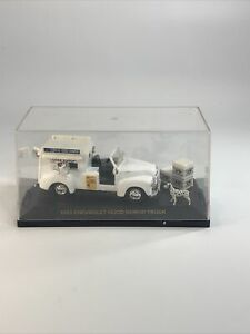 VINTAGE 1:43 SCALE ROAD CHAMPS DIECAST 1953 CHEVY GOOD HUMOR TRUCK W/ CASE