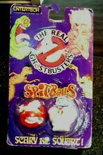 1986 Ghostbuster Logo & Stay Puff Man Spitballs Real Ghostbusters Rough Card