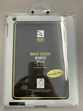 Back Cover iPad 3, iPad 4, iPad 2 Rubber Frame, Clear back - Tucano