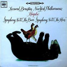HAYDN / SYMPHONY NO. 82 - LEONARD BERNSTEIN  - CBS LABEL - U.K. LP - 1965