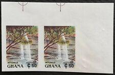 Ghana 1991 Def. Imperf. Corner Pair  M.N.H.