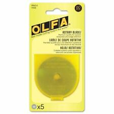 OLFA Rotary Blade Refill (5 Per Package) - 60 Millimeters - 60mm x 5 (RB60-5)
