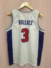 NBA DETROIT PISTONS BASKETBALL SHIRT JERSEY CHAMPION BEN WALLACE #3