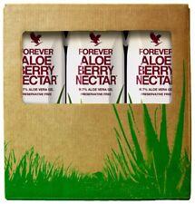 Forever Living Aloe Berry Nectar Tripack Gel Drink 3 X 1000ml