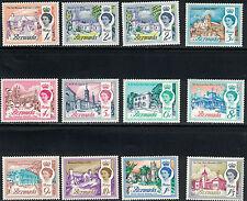 Bermuda SC175-191 Set of Scenics:Famous Places In Bermuda MNH 1962-1965