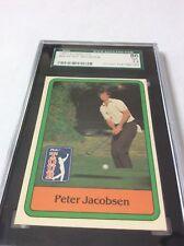 1981 Donruss Golf Peter Jacobsen #26 SGC 86/7.5