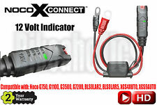 Noco GC015 X-Connect 12V Indicator - Noco XGS9AUTO Automotive Solar Charging Kit