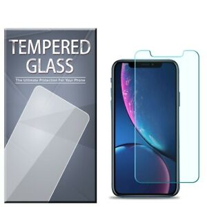 Tempered Glass Screen Protector 3-PACK For iPhone 12 11 XR PRO MAX 8 7 PLUS SE