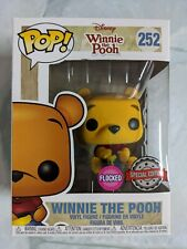 💥Funko POP Disney: #252 Winnie the Pooh Flocked(Special Edition) Vinyl Figure💥