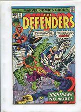 THE DEFENDERS #31 - NIGHTHAWK'S BRAIN! (7.0) 1975