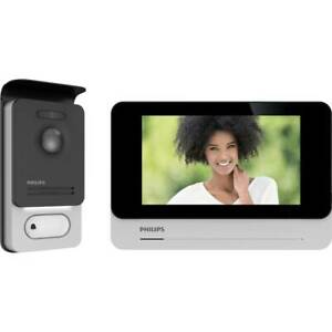Interphone vidéo Philips WelcomeEye Connect2 531036 Wi-Fi Set complet 1 foyer 1