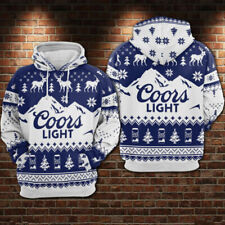 Coors Light Full Printing 3D Pullover Hoodie