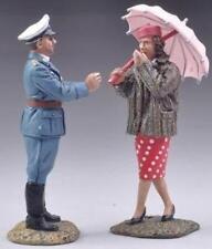 THOMAS GUNN WW2 GERMAN LUFT020B LUFTWAFFE ACE RUDI SINNER DAK CAP & WOMAN MIB