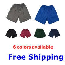 1 Pair PC Boys Girls Kids Sports Wear School Shorts Short Pants Uniforms Sz