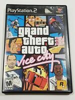 Grand Theft Auto: Vice City (Sony PlayStation 2, 2002) Complete w/ Manual