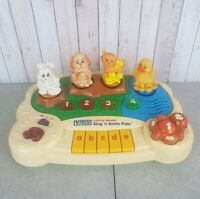 Vtech Little Smart Sing N Smile Pals Vintage Collectable Toy Tested and Working