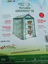 Ogrow Heavy-Duty Walk-in 2-Tier 8-Shelf Garden Greenhouse Canopy is Missing