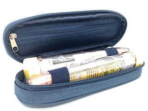 ICE Medical Blue Twin Epipen Syringe Case - Allergies Diabetes Inhalers