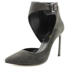 Zapatos de tacón de mujer Nine West color principal gris de ante
