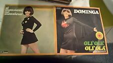 "7"" DOMINGA  OLI OLE'OLI'OLA SI MONSIEUR NO MONSIEUR GATEFOLD COVER EX+ VINILE EX"