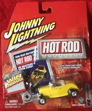 Johnny Lightning ~ Hot Rod Magazine ~ 1932 Ford Roadster ~ MOC