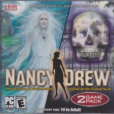 Nancy Drew The Haunting of Castle Malloy & Legend of the Crystal Skull PC Games