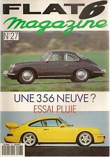 FLAT 6 27 PORSCHE 356 NEUVE 935  911 TURBO 3.4 RS 911 SPEEDSTER TURBOLOOK 912