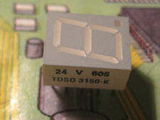TDS0 3150-K   Standard 7-Segment Display 10 mm  Orange Common Anode  TFK  1pcs