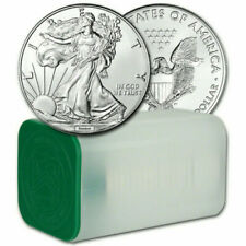 2012 1 Oz Silver American Eagle 1 tube consisting of 20 - A