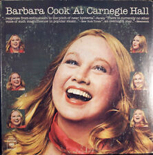 Barbara Cook At Carnegie Hall vinyl LP / BROADWAY DIVA DEAD AT 89 RIP live