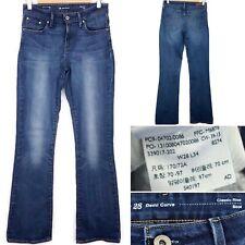 "LEVI'S Strauss & Co Demi Curve Classic Rise Bootcut Jeans W28"" L34"" Blue Women's"