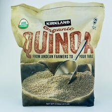 1 Pack Kirkland Signature Organic Quinoa 4.5 lb/2 Kg Big Bag!