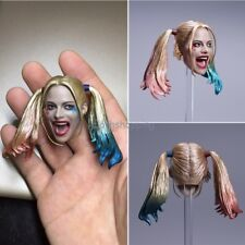 1/6 Female Joker Harley Quinn Head Sculpt Figure Model F 12'' TBL Body Hot Toys