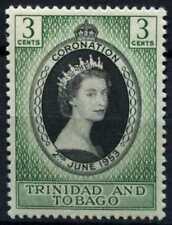 Trinidad & Tobago 1953 SG#279 QEII Coronation MH #D72046