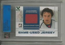 Ovechkin ITG Ultimate Vault 1/1 on UM8 Game-Used Jersey Emerald Logo