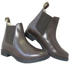 Equi Leather Equestrian Riding Show Jumping Furline Jodhpur Boots Al Color/Size