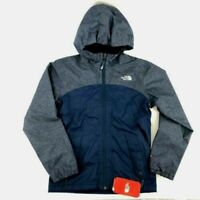 The North Face Girls Warm Storm Jacket Girls Medium 10/12 Blue Wing Teal Coat