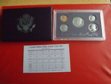 *USA KMS 1990 PP (PROOF SET)  * 1 Cent- 1/2 Dollar (Ki2)