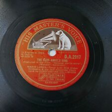 78rpm   MARIO LANZA THE SONG ANGELS SING / because you`re mine da 2017