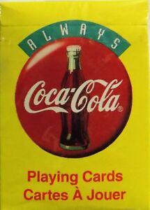 Satz Karten Poker Playing Cards Coca Cola Always. Neu