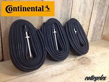 3 x Continental Bike Inner Tube Race 28 700 20c-25c Presta 60mm valve tubes
