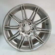"Genuine BMW 19"" MV4 225M 9J Silver 8037142 Rear 3 series"